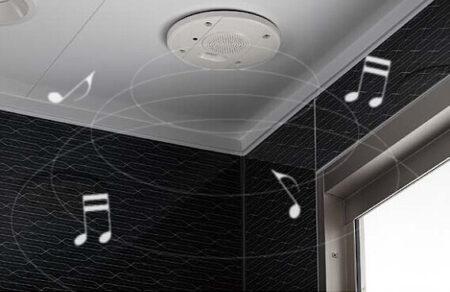 お風呂の音響